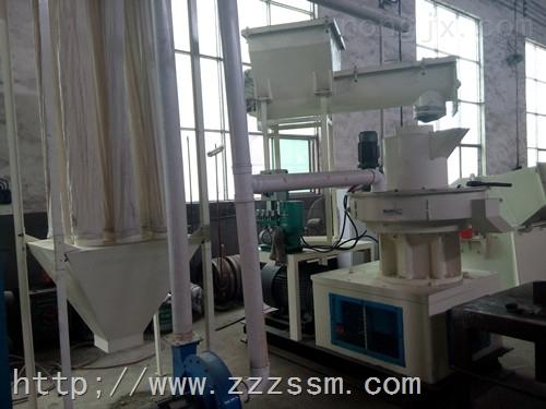 齐全-信阳挤出造粒机生物质颗粒机销售郑州联明机械