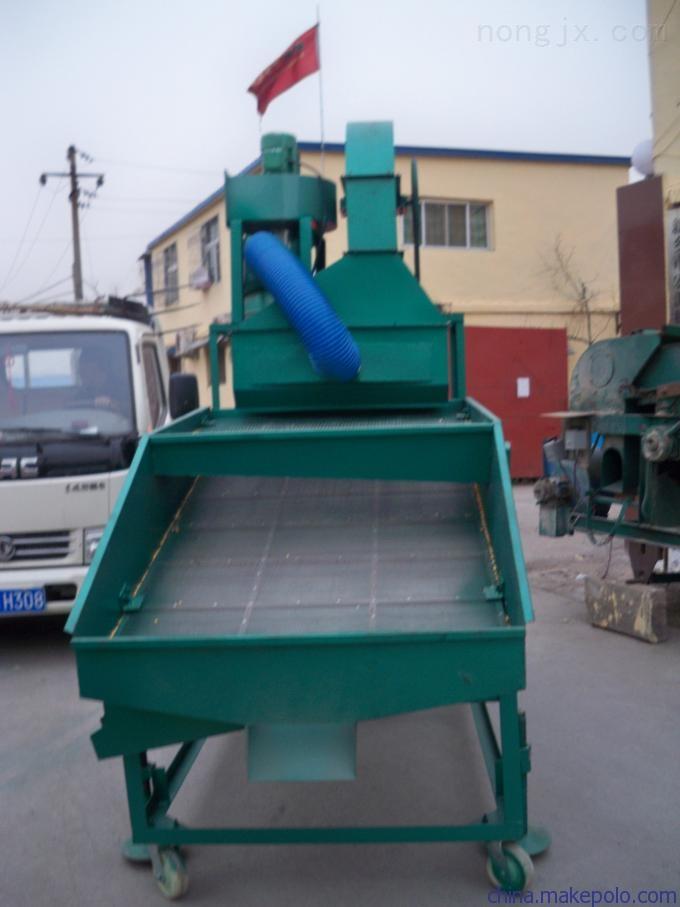 HF-25-哈尔滨直销多功能粮食振动清杂精选筛选机玉米去石筛选机视频