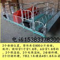 猪设备产床沧州养猪设备双体复合产床价格