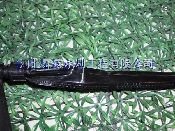 山西晋城沁水县黑色16mm滴水软带 西瓜滴灌带