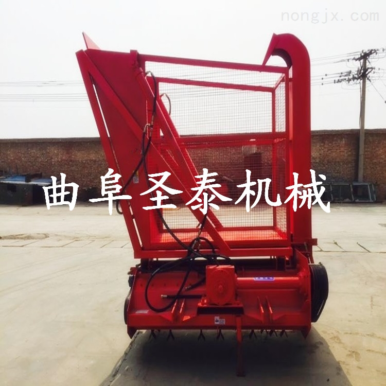ST-1000-玉米秸秆青储回收机,青储秸秆粉碎收获机