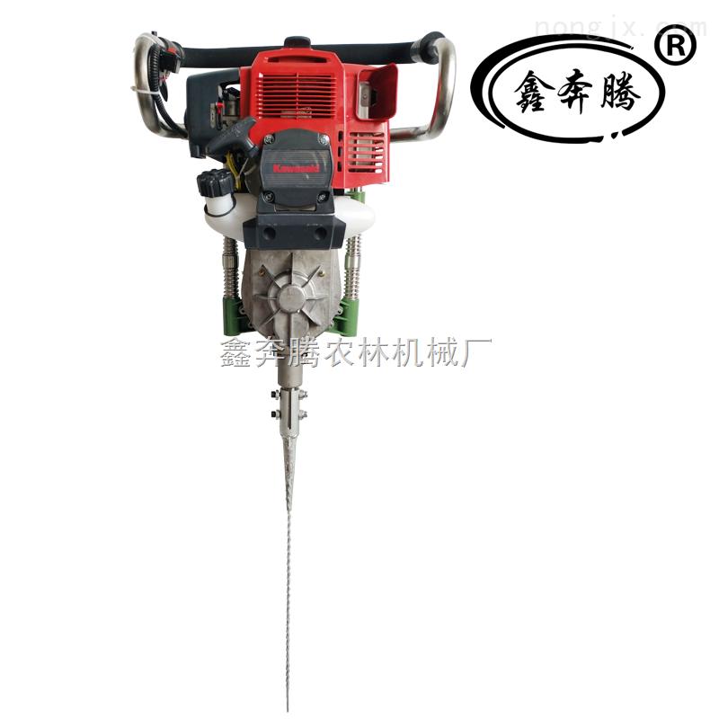 正品进口便携式起球挖树机 川崎单杠风冷两冲程汽油机图片