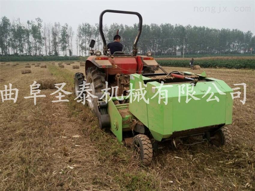玉米秸秆打捆机 秸秆收获打捆一体机