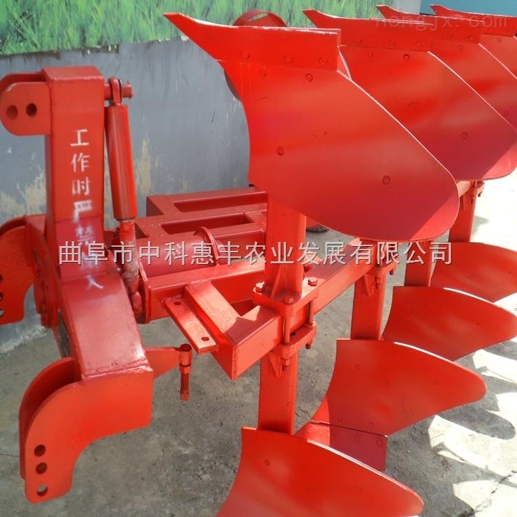 大面积耕地5铧犁全新型机械液压翻转犁四轮牵引翻转犁价格栅条犁液压铧式犁
