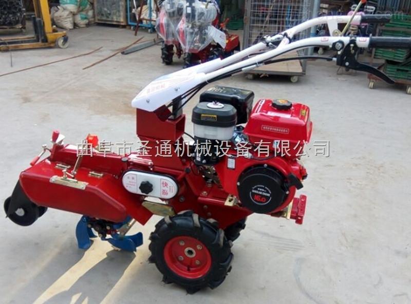 高效率雙面犁疏松土壤開溝機 農用田園管理機型號