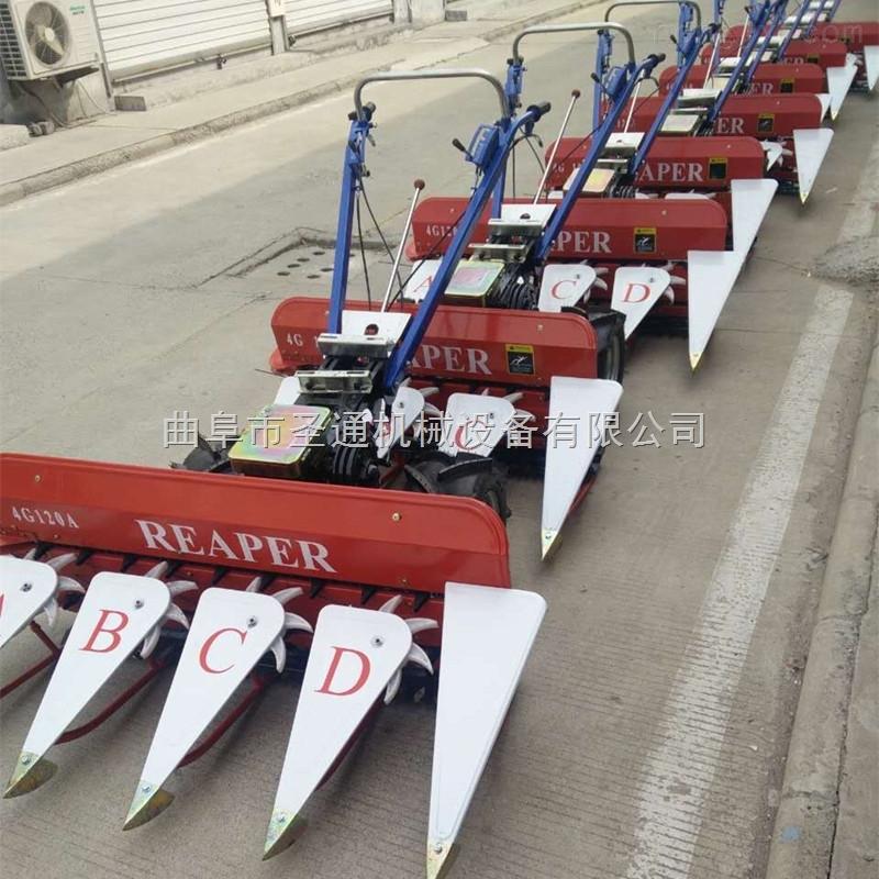 寿县水稻小型收割机 不卡料苜蓿草收割机