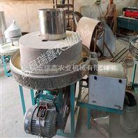 家用小型豆腐机 电动盘式香油石磨机