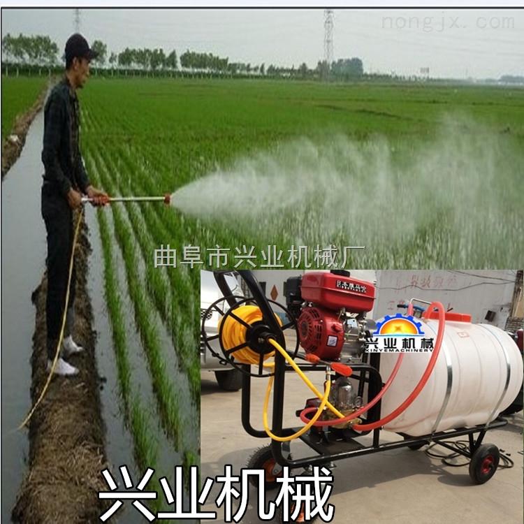 多用途喷雾消毒器械 厂家直销三轮车打药机 汽油高压喷雾器