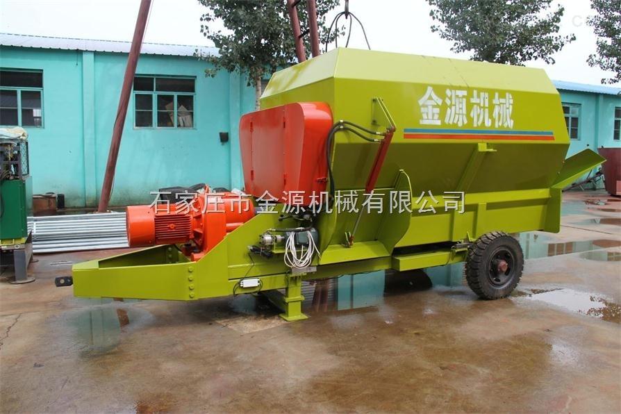 河北石家庄金源机械--TMR移动式饲料搅拌机制备机