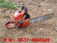 挖树机 手持式链条式汽油挖树机 二冲程挖树机