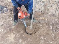 树木挖树机报价 汽油锯齿式挖树机 苗圃起树机