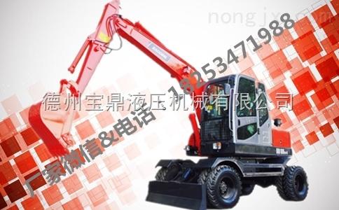 小型轮式挖掘机价格
