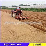 三门峡蔬菜种子覆膜播种机 四轮带动覆膜机