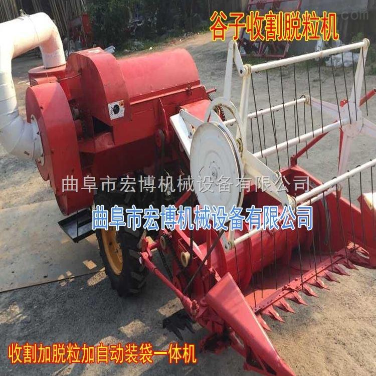 新型小麦收割机 水稻联合收割机 小麦收割脱粒装袋机