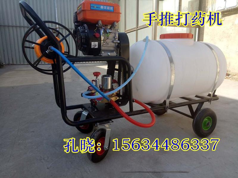 高杆玉米打药机 农用手推式喷雾器 远程灭虫四轮车打药机