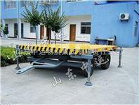 山东销售3T带支脚平板拖车 平板拖车价格 平板拖车厂家直销