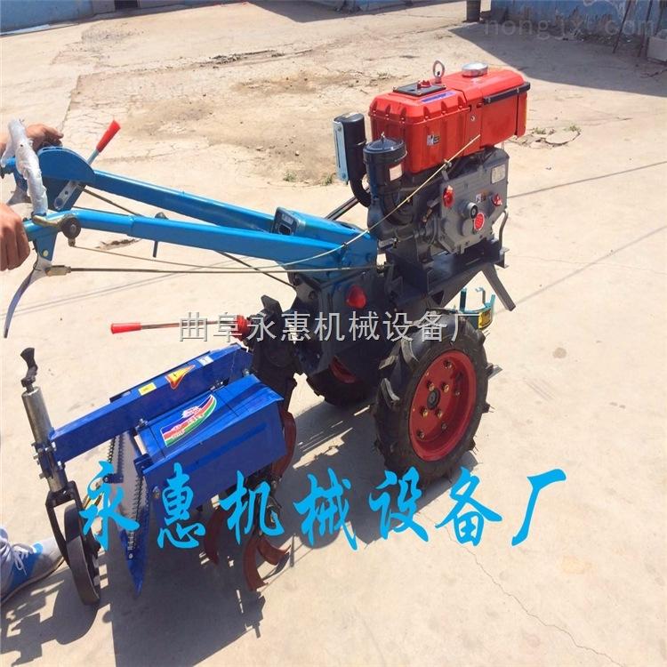 果园开沟培土机  12马力手扶旋耕机 带做的手扶旋耕机