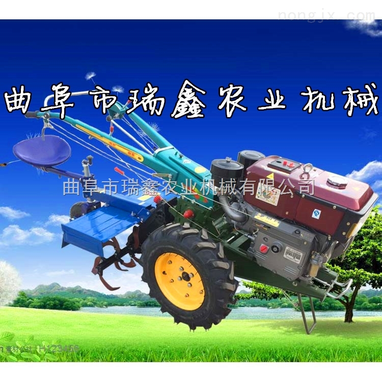 厂家直销8-20马力手扶拖拉机带旋耕机尾座单铧犁
