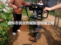 山林种植挖坑机 新型植树挖坑机 农用拖拉机打吭机