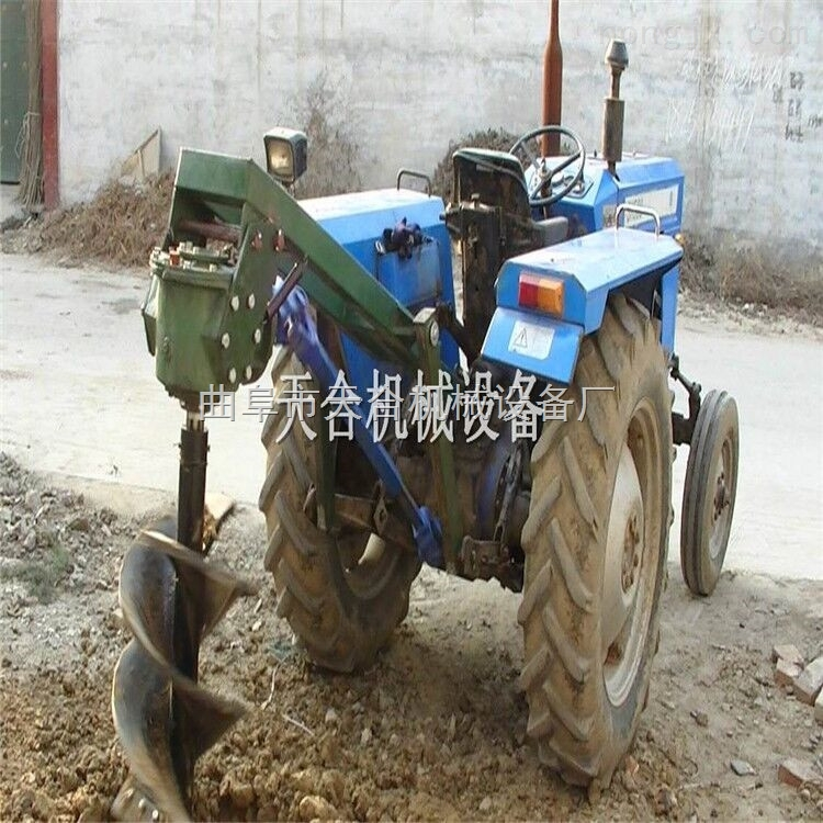 林业挖坑机 护栏打桩机 柴油锤打桩机 液压打桩机 地基打桩机