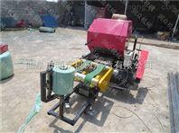 畜牧养殖干湿牧草打捆包膜机 全自动农用大型固定式包膜机