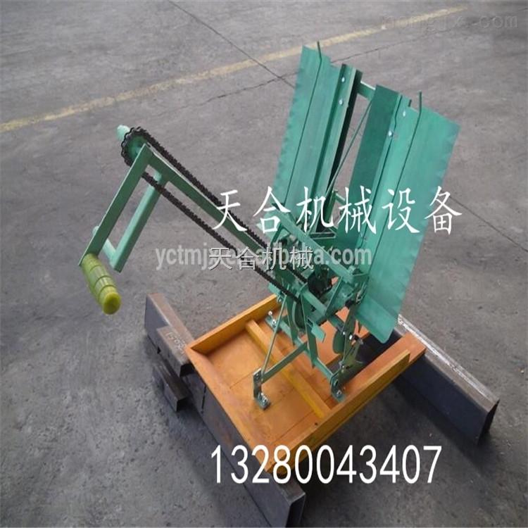 微型手动手压式插秧机 高效率禾苗补苗机 环保省力的育秧机