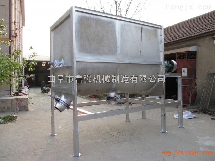 养殖专用卧式饲料搅拌机 不锈钢饲料搅拌机 优质饲料搅拌机