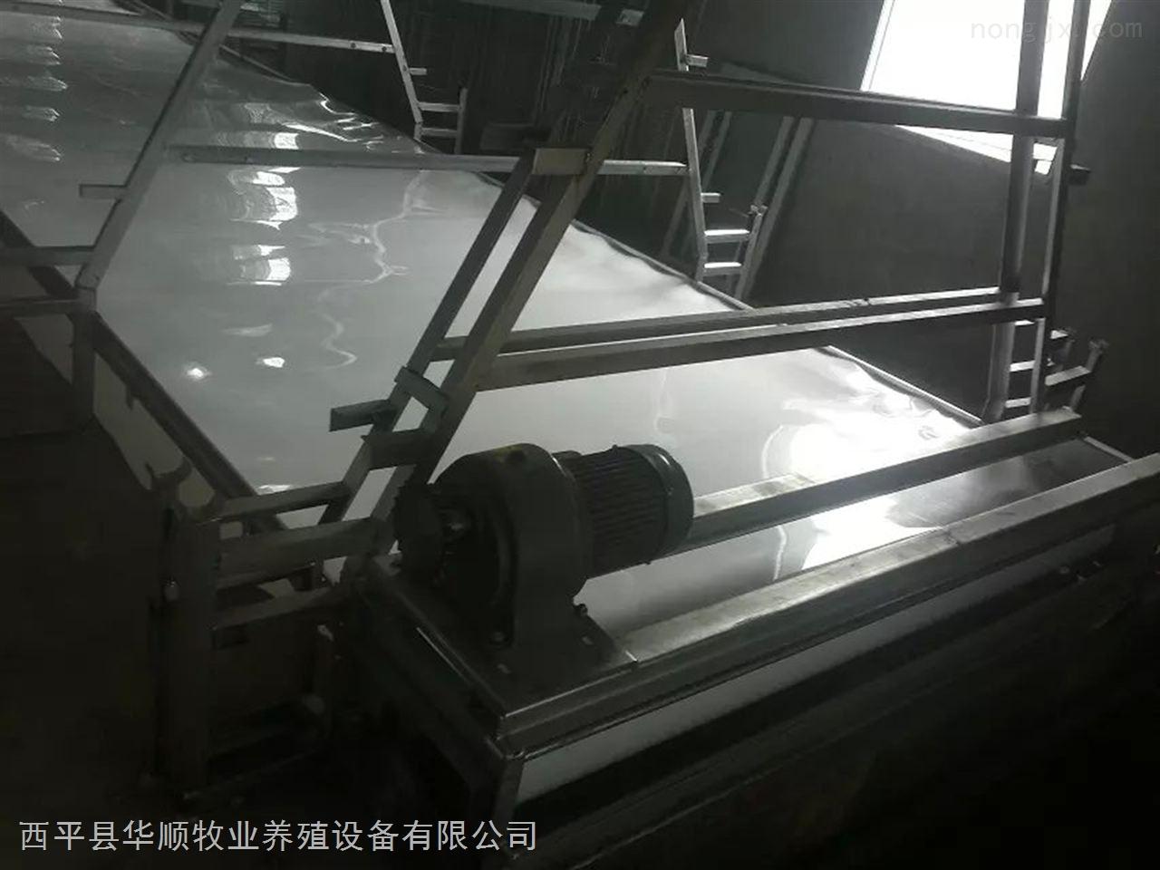 HS 8905-传送带清粪机 皮带式清粪机 笼养肉鸡清粪设备 自动清粪机