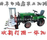 青稞割晒机 水稻收割打捆机价格 多功能牧草收割机