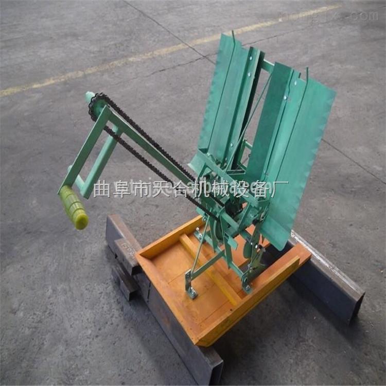 生产水稻插秧种植机 手摇式插秧机价格/效果图 手摇式插秧机型号