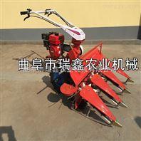 贵州艾叶水稻收割机药材割晒机收割机