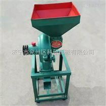 小型立式精磨机 大米玉米粉碎磨面机 饲料打粉磨面机
