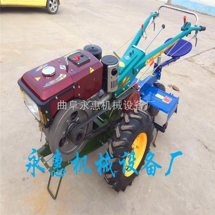 安吉縣手扶旋耕機柴油款,電啟動手扶拖拉機圖片