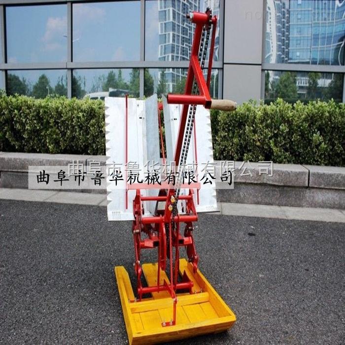 手摇式水稻插秧机 小型手扶水稻插秧机设备