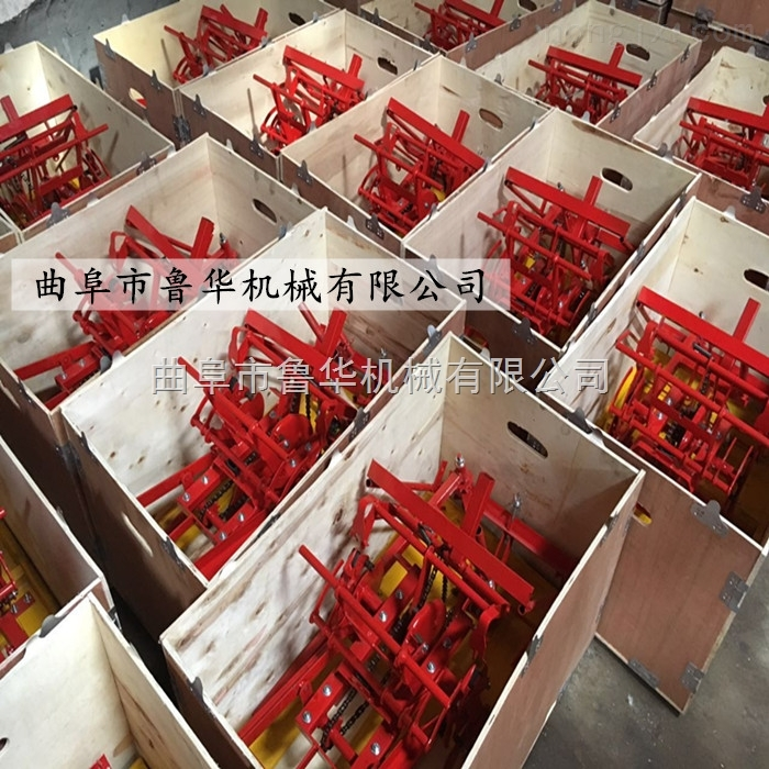 福建水稻插秧机 小型手动插秧机 人力手摇式插秧机