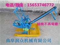 手动两行插秧机 手摇插秧机设备 小型插秧机