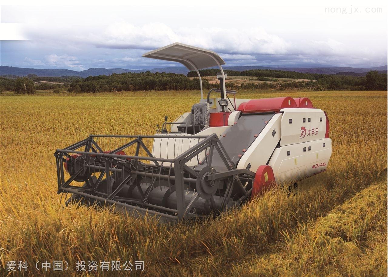4LZ-4.0履帶式全喂入水稻聯合收割機