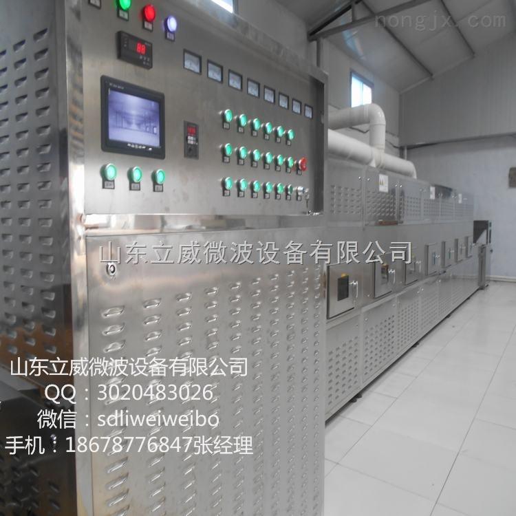 山东立威专业生产开心果微波干燥杀菌设备 微波干燥杀菌机