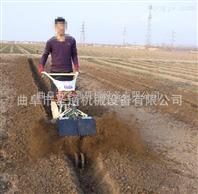 加固耐用开沟培土机 小型果园翻耕施肥机