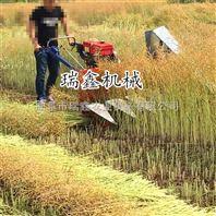 家用玉米秸秆席草收割机 芦苇柳条割晒机