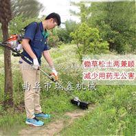 现货直销多功能背负式除草机 省油果园锄地机 松土割草耐用机