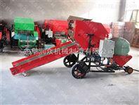 供应全自动青贮草料打包机 高效牧草打捆包膜机 冬储饲料打捆机