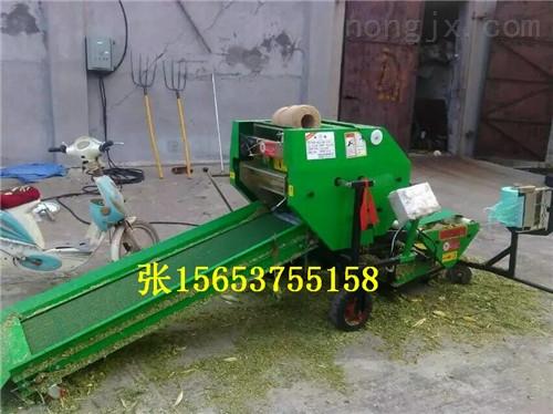 地瓜秧青贮打捆机价格  自动型青贮饲草包膜机