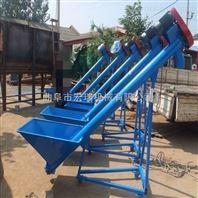 散装石粉水泥输送机 沙子管式装车机