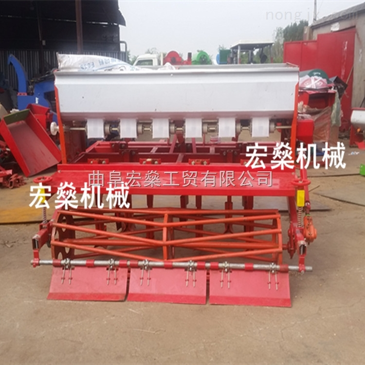拖拉机带动小麦大豆玉米播种机 多功能蔬菜播种机
