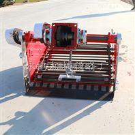 拖拉机带动大型土豆大蒜地瓜收获机