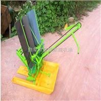小型 农用手动手摇插秧机 手动两行插秧机