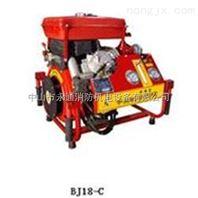 东进牌手抬式消防泵双缸 柴油机电启动 25匹马力