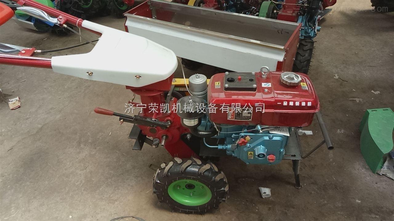 17款小型多功能微耕机价格 微耕除草播种施肥机厂家
