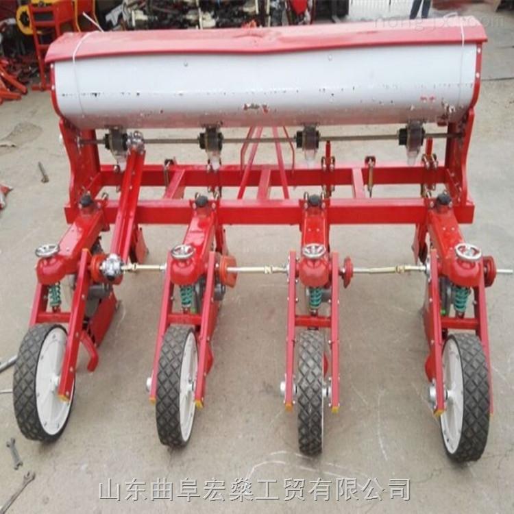 六行谷子播种机 大豆玉米播种机 四轮谷子播种机